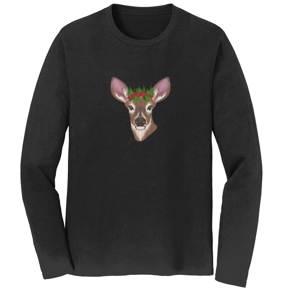Christmas Doe - Adult Unisex Long Sleeve T-Shirt