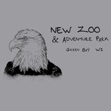 NEW Zoo Bald Eagle Outline - Kids' Unisex Hoodie Sweatshirt