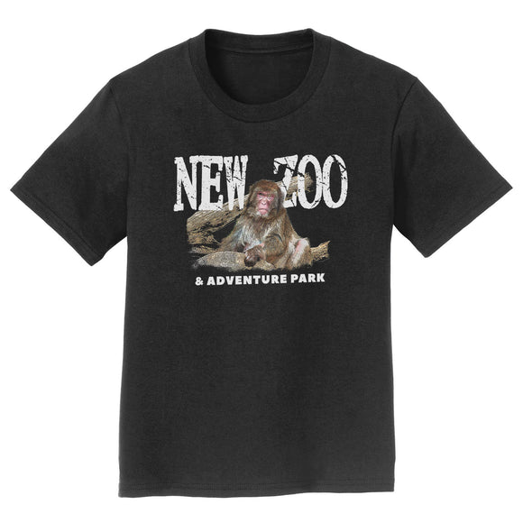 NEW Zoo Japanese Macaque Monkey Art - Kids' Unisex T-Shirt