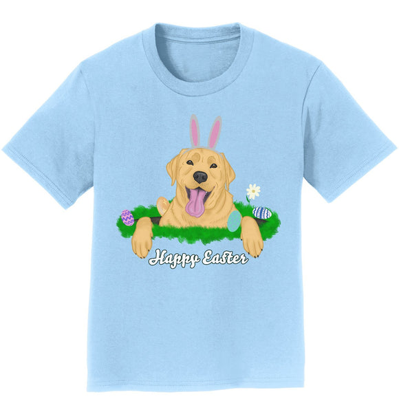 Rabbit Hole Yellow Labrador  - Kids' Unisex T-Shirt