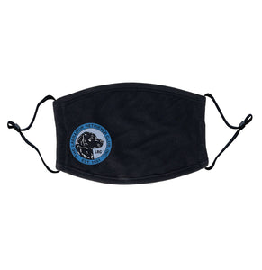 LRC Logo - Full Front Blue - Adjustable Face Mask