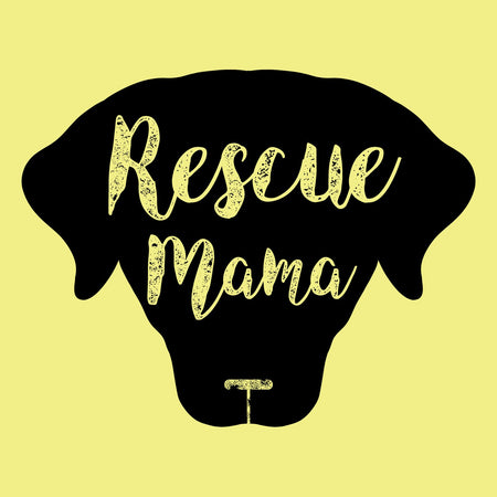 Rescue Mama - Women's Fitted T-Shirt