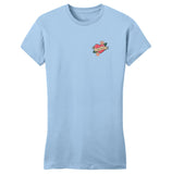 Lab Mom Heart - Pocket - Women's Fitted T-Shirt