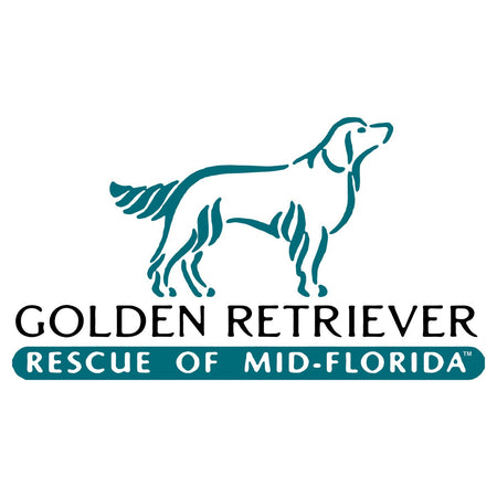 Golden Retriever Rescue of Mid-Florida Logo - Women's V-Neck Long Sleeve T-Shirt