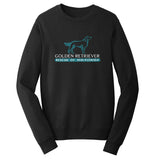 Golden Retriever Rescue of Mid-Florida Logo - Crewneck Sweatshirt
