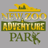 NEW Zoo and Adventure Park Logo - Women's V-Neck Long Sleeve T-Shirt
