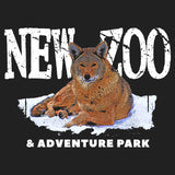 NEW Zoo Logo Red Wolf Art - Women's Fitted T-Shirt