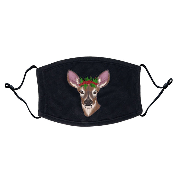 Christmas Doe - Adult Adjustable Face Mask