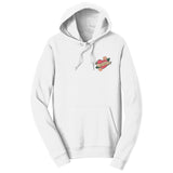 Lab Mom Heart - Pocket - Adult Unisex Hoodie Sweatshirt