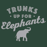 Trunks Up for Elephants 2 - Adult Unisex T-Shirt