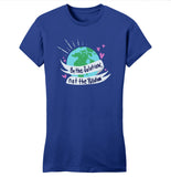 Earth Day - Be The Solution Not The Pollution - Women's Fitted T-Shirt