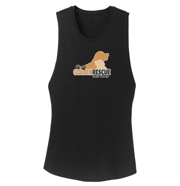 Golden Rescue South Florida Logo - Ladies' Tank Top