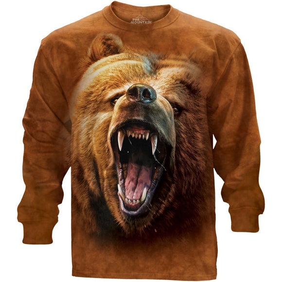 NEW Zoo & Adventure Park - Grizzly Growl - Long Sleeved T-Shirt - Online Shop
