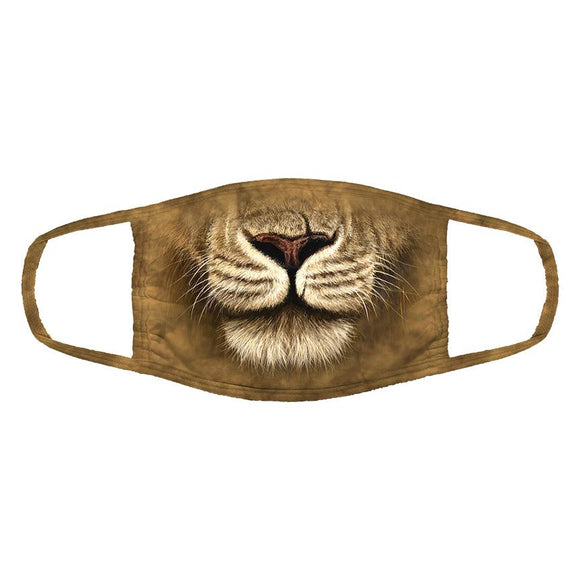 The Mountain - Lion Warrior - Adult Unisex Face Mask