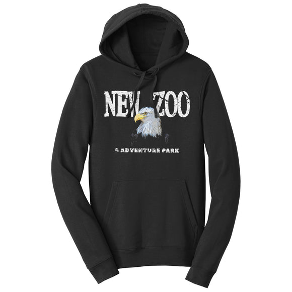 NEW Zoo Bald Eagle Art - Adult Unisex Hoodie Sweatshirt
