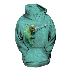 NEW Zoo & Adventure Park - Climbing Chameleon - Kid's Hoodie Sweatshirt - Online Shop