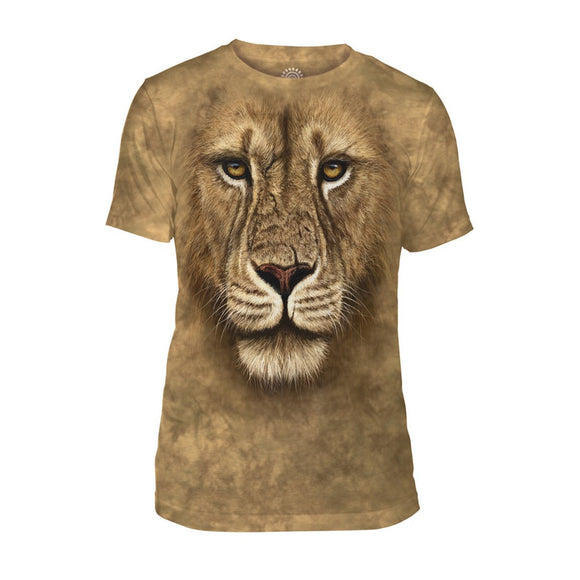 NEW Zoo & Adventure Park - Lion Warrior - Men's Tri-Blend T-Shirt - Online Shop