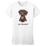 Got Chocolate - Women's Fitted T-Shirt