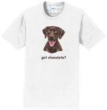 Got Chocolate - Adult Unisex T-Shirt