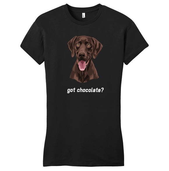 WCLRR - Got Chocolate - Women's Fitted T-Shirt
