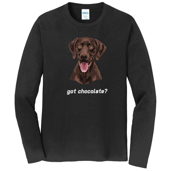 WCLRR - Got Chocolate - Adult Unisex Long Sleeve T-Shirt