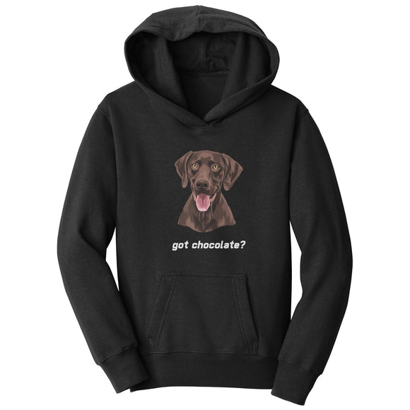 WCLRR - Got Chocolate - Kids' Unisex Hoodie Sweatshirt