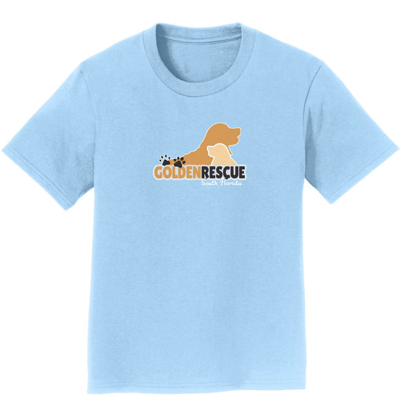 Golden Rescue South Florida Logo - Youth T-Shirt