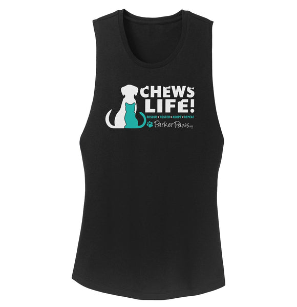 Parker Paws Chews Life - Women's Tank Top