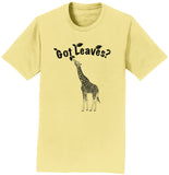 Got Leaves - Giraffe - Adult Unisex T-Shirt