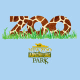 NEW Zoo - Zoo Giraffe Pattern - Adult Unisex T-Shirt