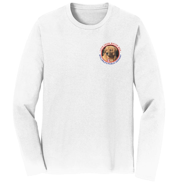 Mayor Max - Love From Mayor Max - Adult Unisex Long Sleeve T-Shirt