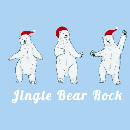 Jingle Bear Rock - Adult Unisex T-Shirt