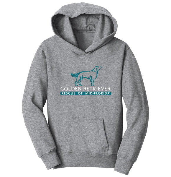 Golden Retriever Rescue of Mid-Florida Logo - Youth Hoodie