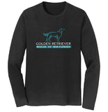 Golden Retriever Rescue of Mid-Florida Logo - Long Sleeve T-Shirt