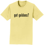Got Goldens - Adult Unisex T-Shirt - Gold Ribbon Rescue