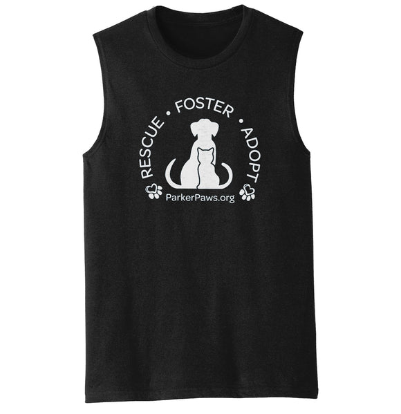 Parker Paws Rescue Foster Adopt - Men's Tank Top