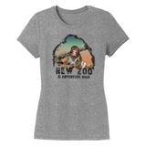 NEW Zoo Japanese Macaque Monkey Sunset - Women's Tri-Blend T-Shirt