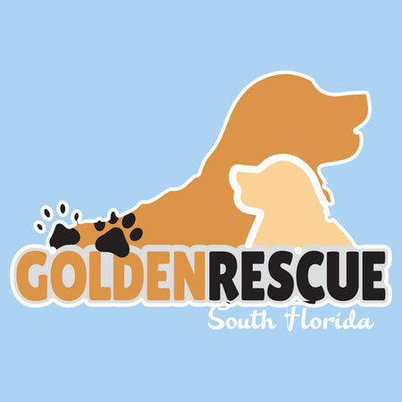 Golden Rescue of South Florida Logo - Kids' Unisex T-Shirt