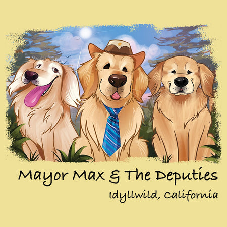 Mayor Max and Deputies - Adult Unisex T-Shirt