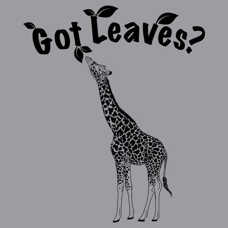 Got Leaves - Giraffe - Adult Unisex Crewneck Sweatshirt