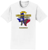 DFWLRRC - DFW LRRC Texas Flag Black Lab Logo - Adult Unisex T-Shirt