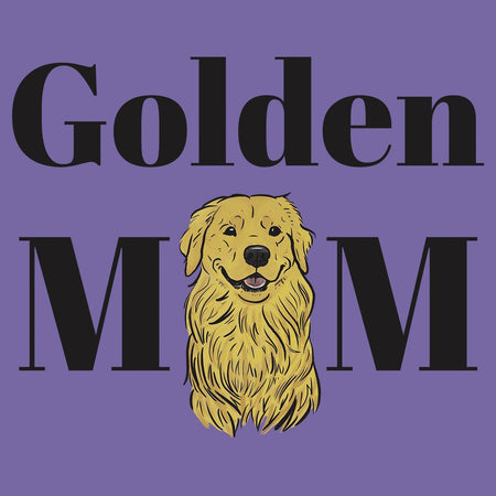Golden Mom Illustration - Women's Tri-Blend T-Shirt