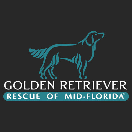 Golden Retriever Rescue of Mid-Florida Left Chest Logo - Adult Unisex Full-Zip Hoodie Sweatshirt