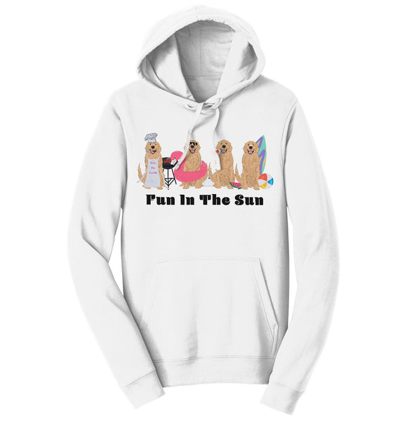 Summer Golden Line Up - Adult Unisex Hoodie Sweatshirt
