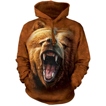 NEW Zoo & Adventure Park - Grizzly Growl - Hoodie Sweatshirt - Online Shop