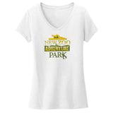 NEW Zoo & Adventure Park - Logo - Women's V-Neck T-Shirt