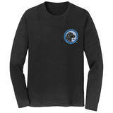LRC Logo - Left Chest Blue - Adult Unisex Long Sleeve T-Shirt