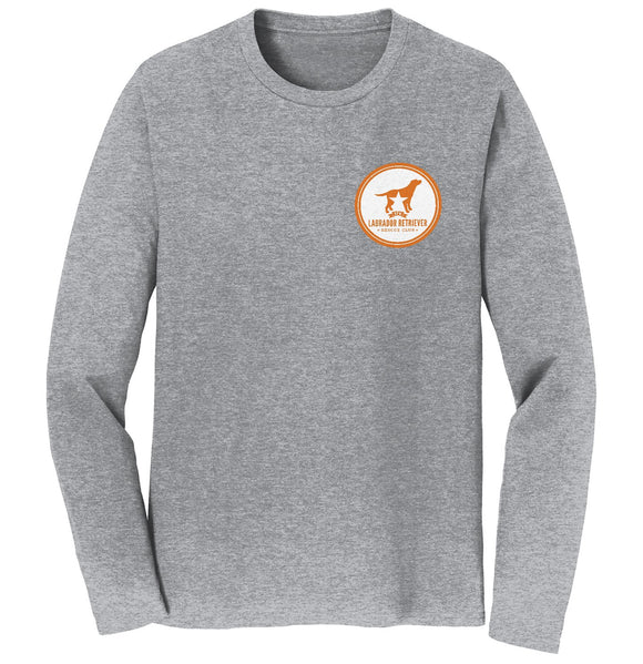 DFWLRRC - Burnt Orange DFWLRR Logo - Adult Unisex Long Sleeve T-Shirt
