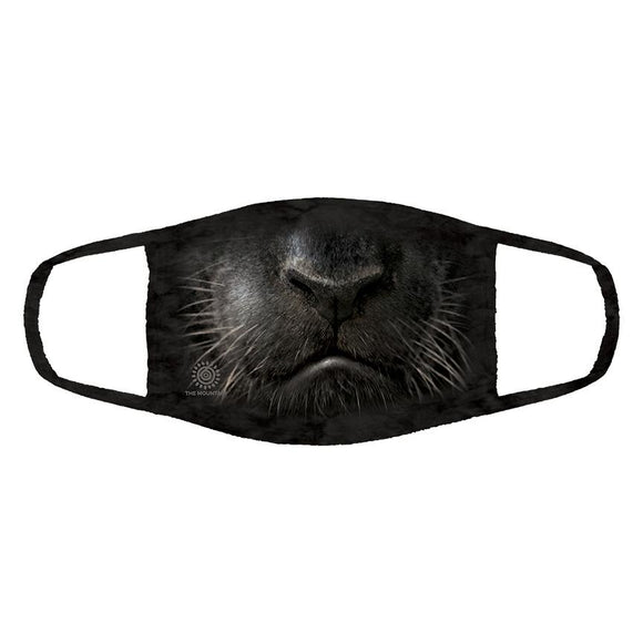 The Mountain - Black Panther Face - Adult Unisex Face Mask