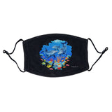 Dolphin Reef Face Mask - Adjustable, Reusable - NEW Zoo & Adventure Park